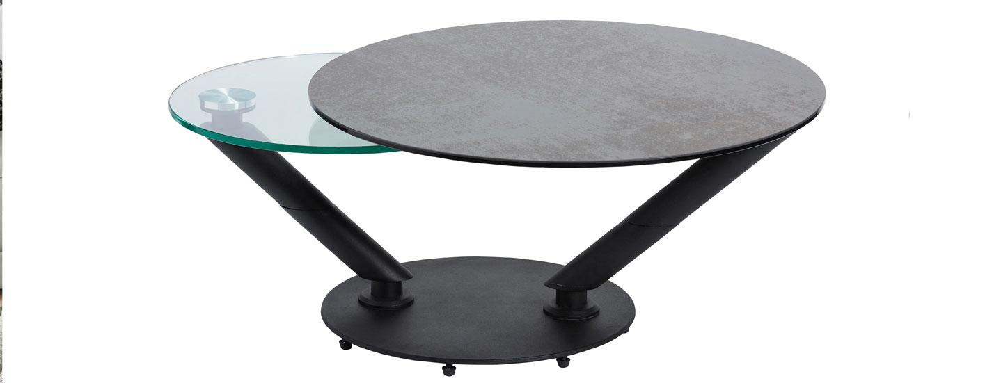 Table basse ronde Crozatier
