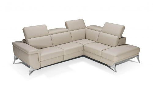 canape d'angle relax en cuir