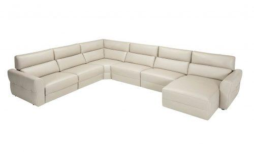 canape d'angle beige clair